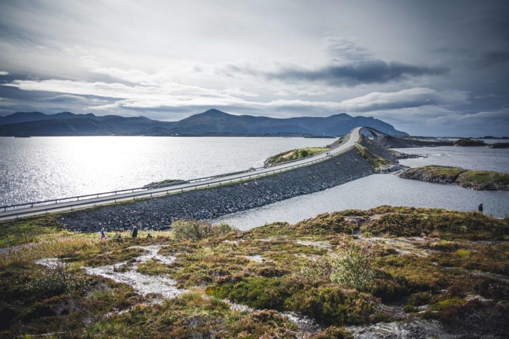 Atlantic Road in Norwegen