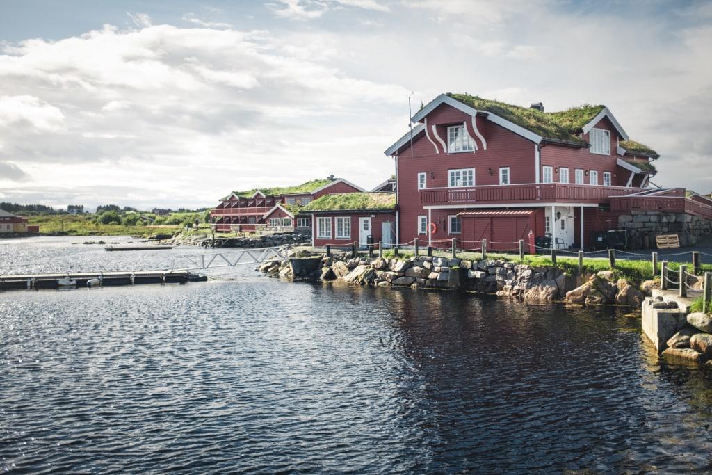Haus in Norwegen an der Atlantic Road
