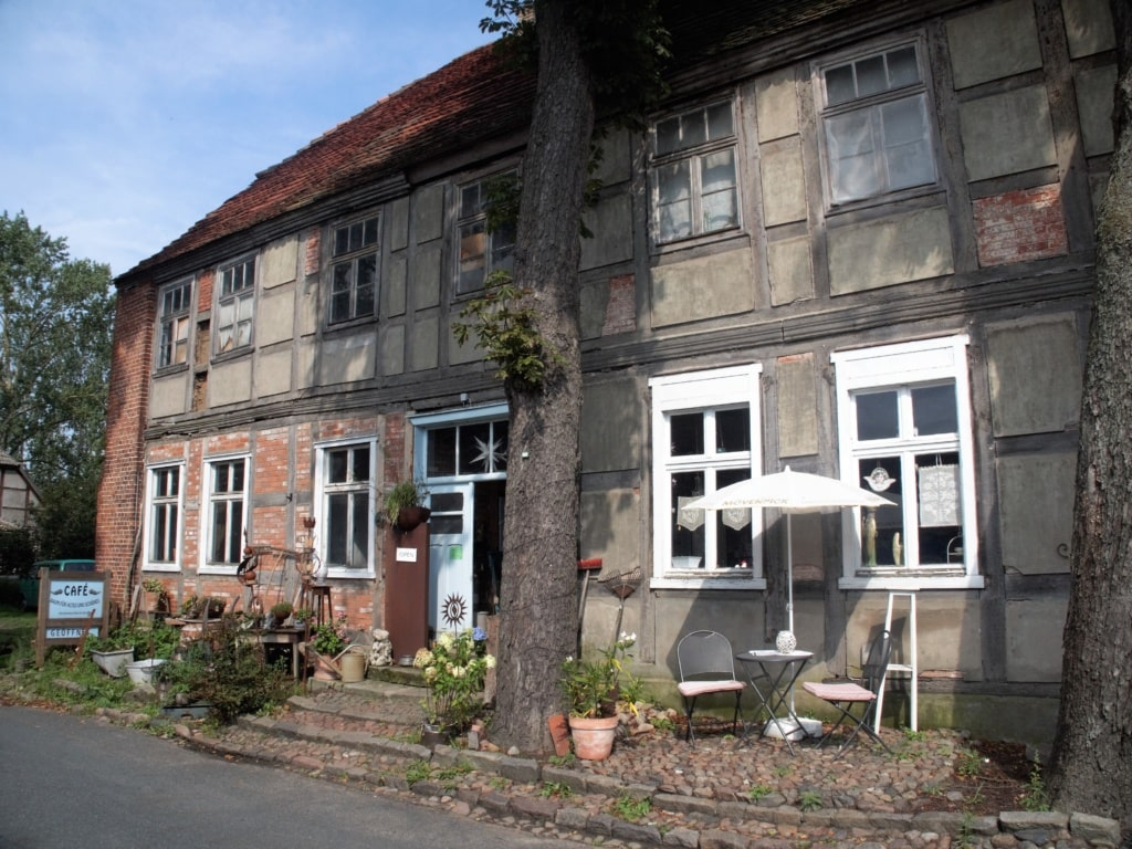 Café in Breetz in der Prignitz