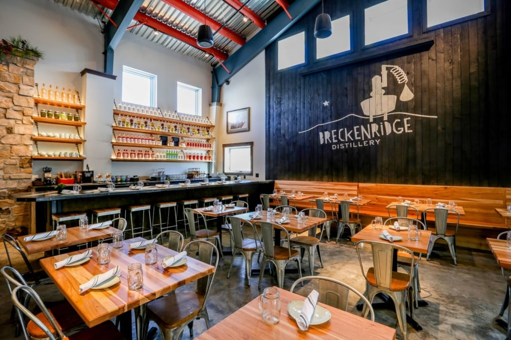 Restaurant der Breckenridge Distillery