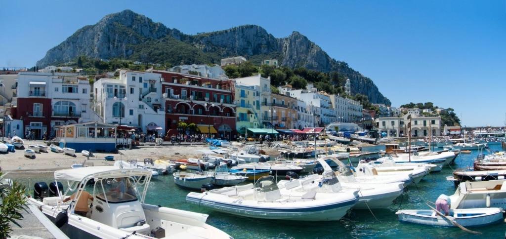 Marina Grande auf Capri