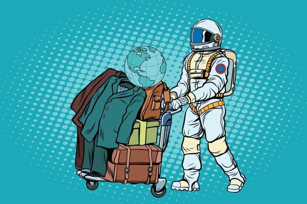 Weltraumtourismus: Astronaut als Urlauber