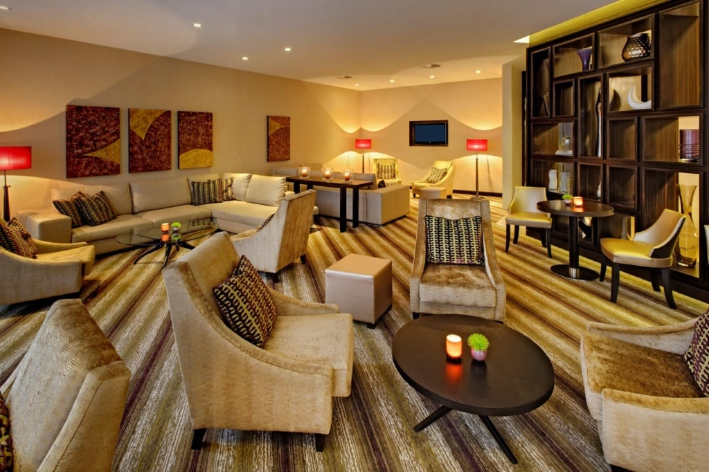 Hilton Hotel am Gendarmenmarkt: Executive Lounge