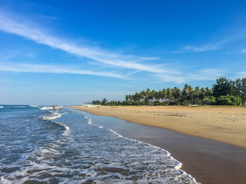 Der Strand in Nilaveli, im Nordosten Sri Lankas, ist menschenleer und traumhaft schön