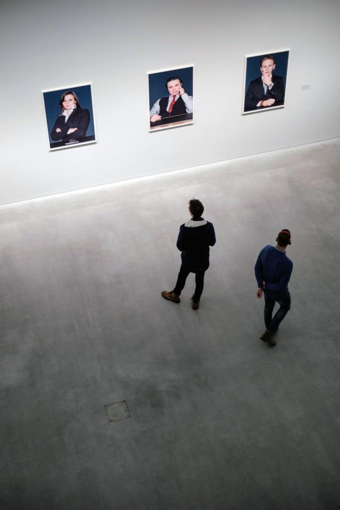 Museumsbesucher in Berlin
