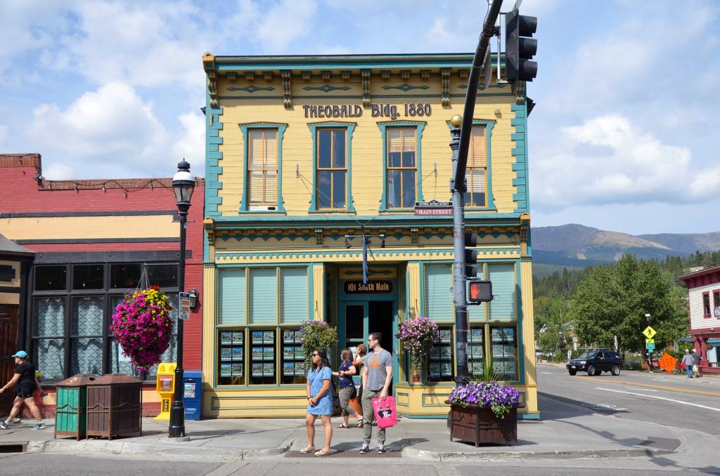 Breckenridge in Colorado hat seinen alten Goldgräber-Charme authentisch behalten.