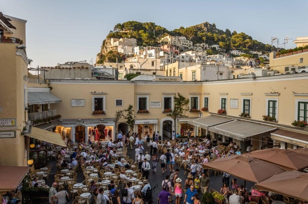 Piazzetta auf Capri