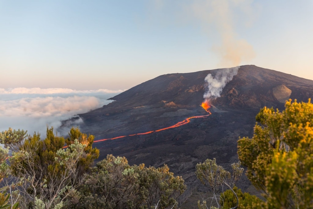Piton de la Fournaise auf La Reunion