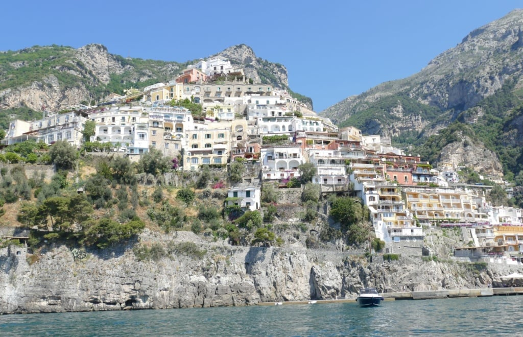 Positano in Italien