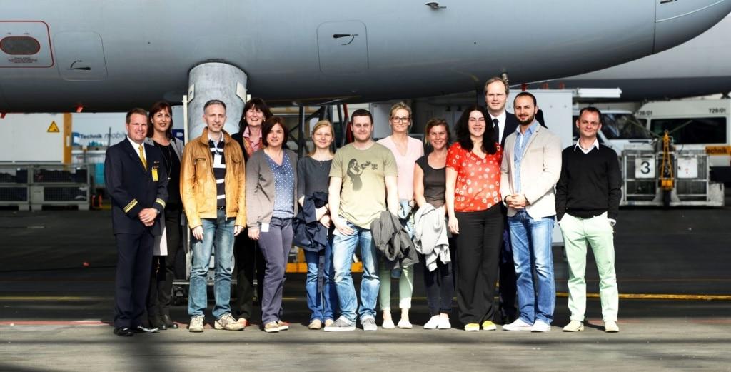 Teilnehmer des Seminars gegen Flugangst