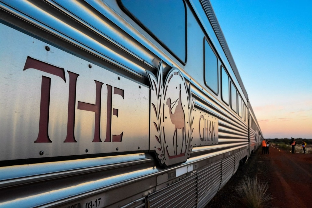 Logo The Ghan