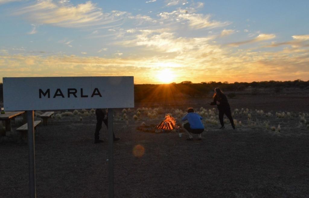 Marla in Australien