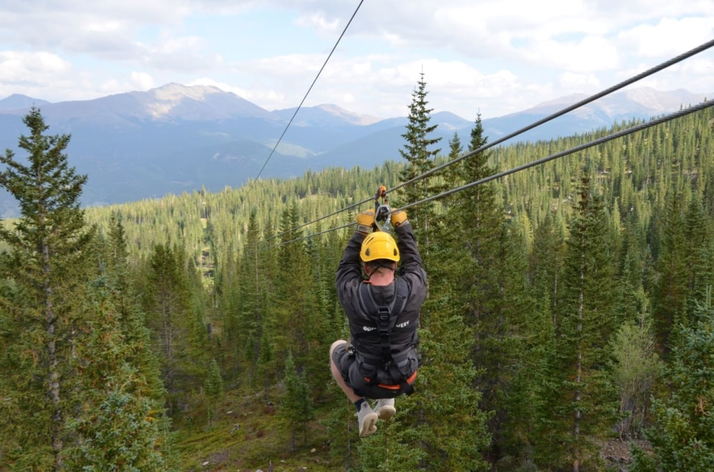 Zipline in Breckenridge