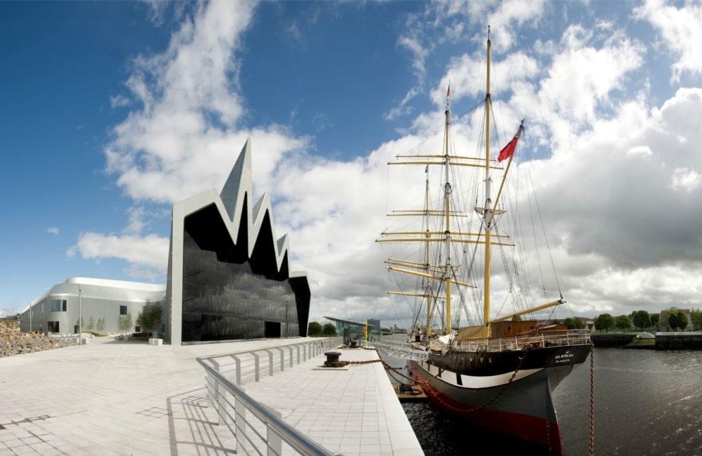 Riverside Museum & Tall Ship Glasgow