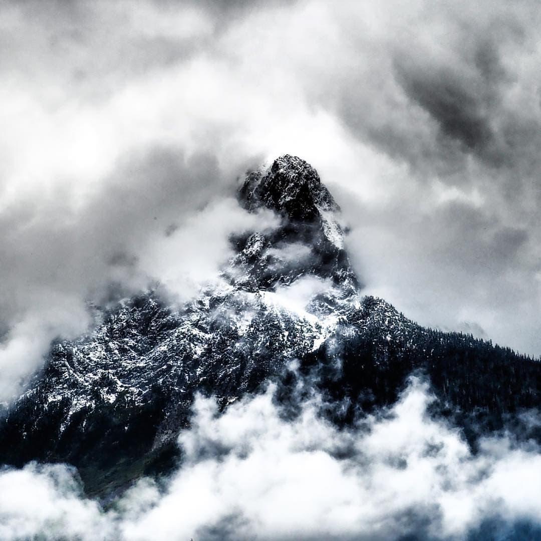 Verliebt in den Nebel von #britishcolumbia. Bald mehr zu lesen in der neuen Ausgabe.  #kanada #reportervorort