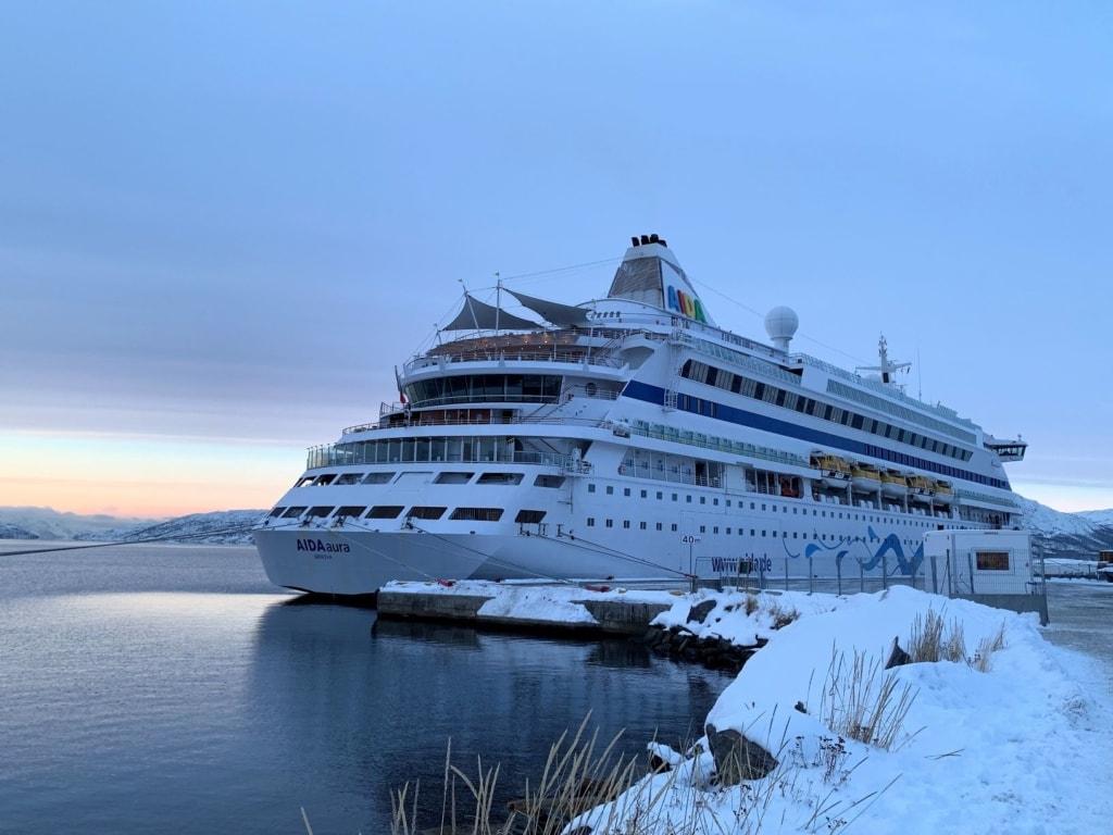 AIDAaura in Norwegen