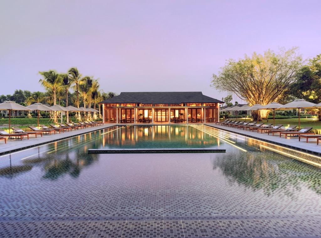 Das Azeri Can Tho Hotel in Vietnam bietet Ruhe nach einer lauten Zeit in Saigon.