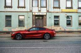 BMW M850i vor »City Stube«
