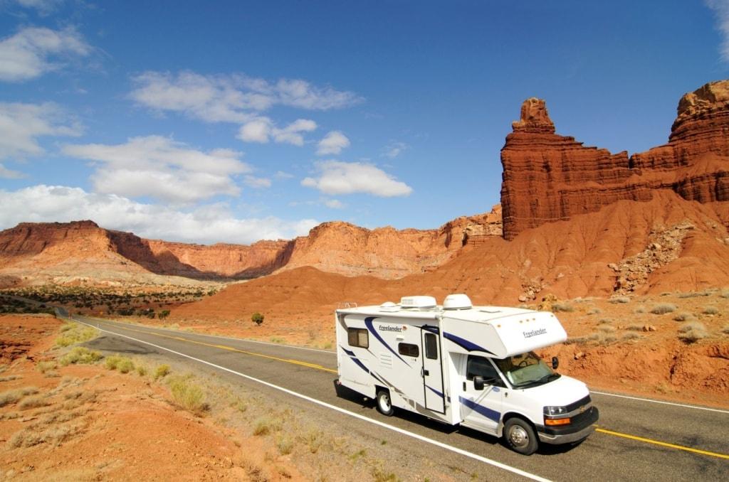 Campingwagen in Utah