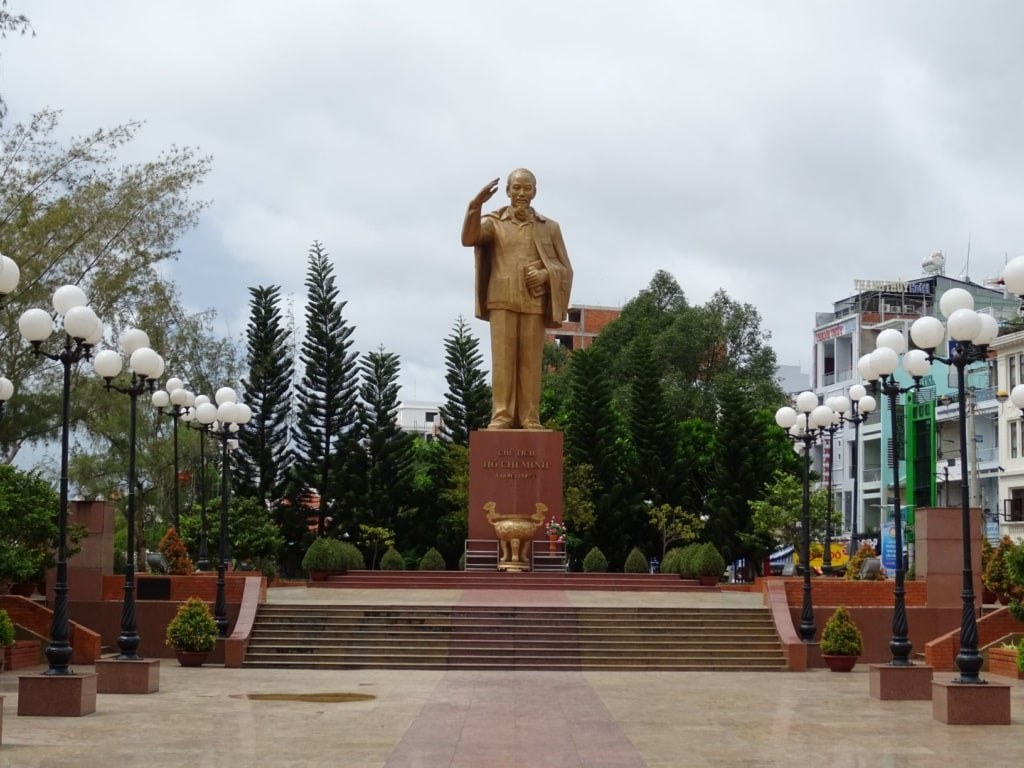 Can Tho Statue Ho Chi Minh