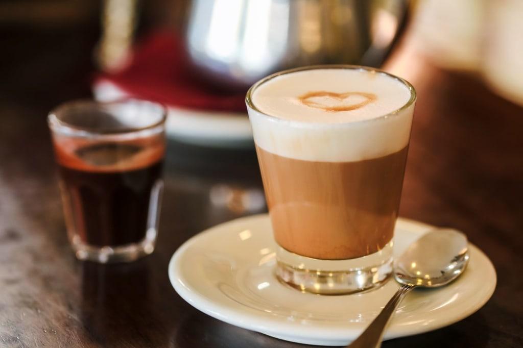 Kaffee Capo in Triest