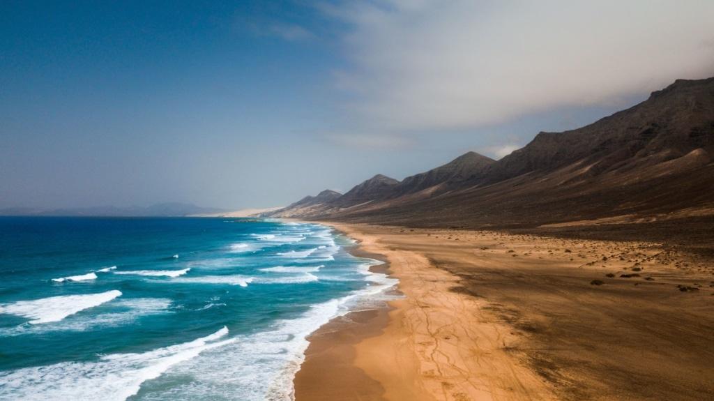 Cofete-Strand auf Fuerteventura