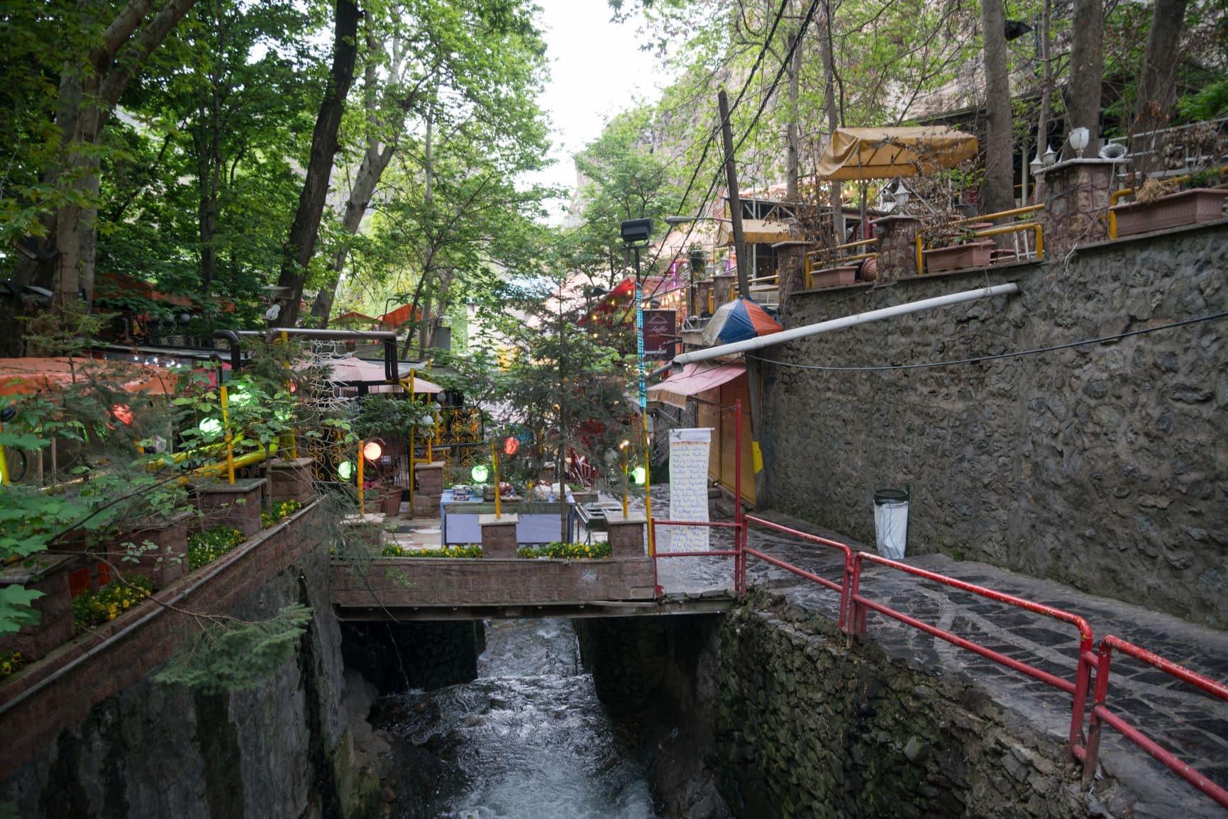 Darband in Teheran
