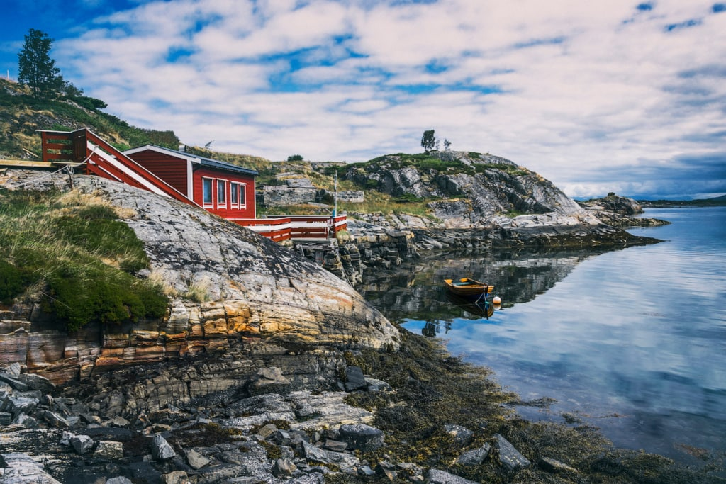 Auf Norwegens Atlantic Road finden Ruhesuchende wunderschöne Natur.
