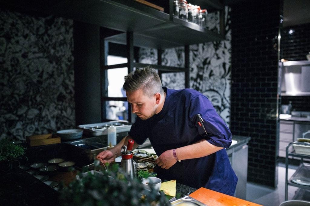 Koch im Golvet in Berlin