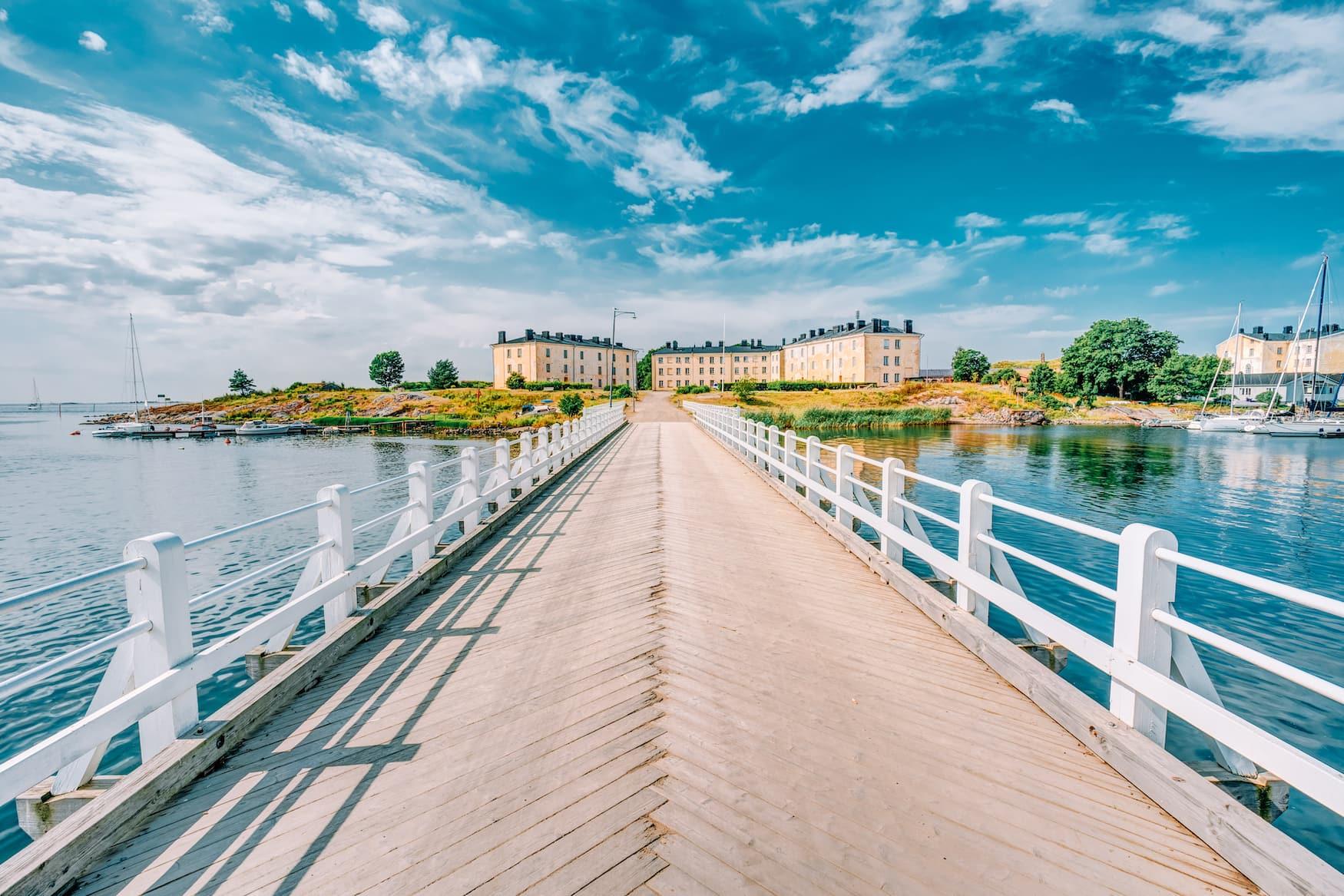 Brücke zur Festung Suomenlinna