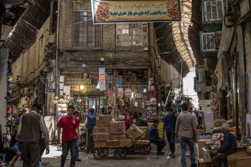 Großer Basar in Teheran