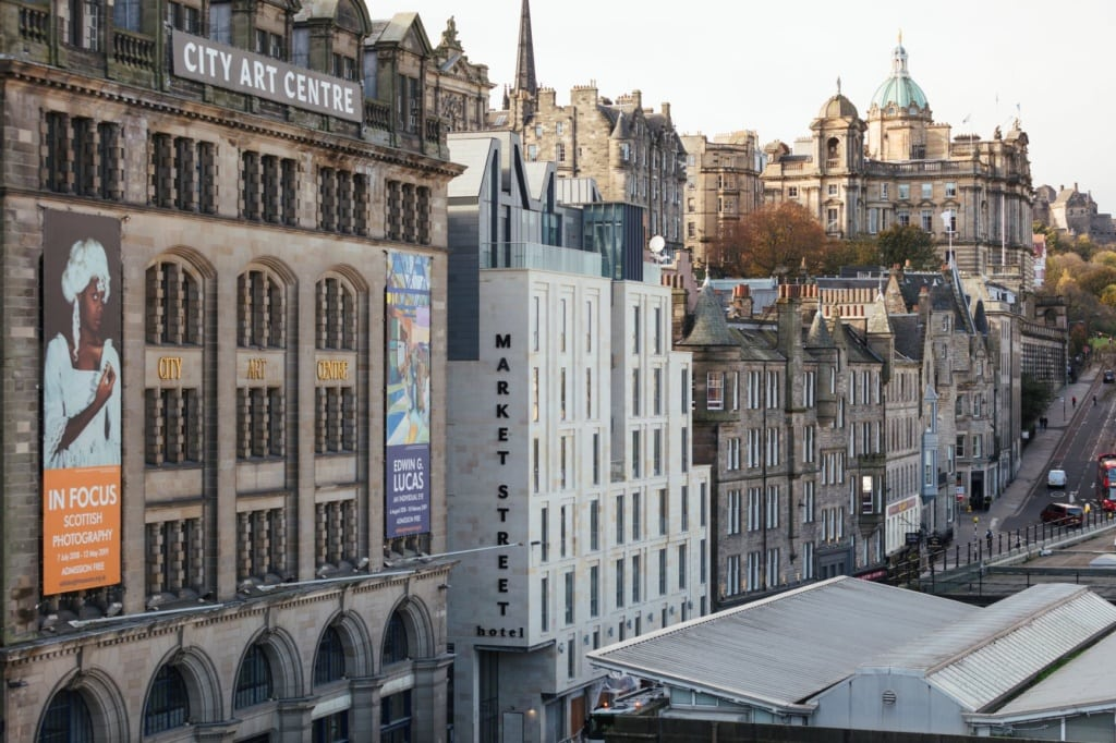 Hotel Market Street in Edinburgh