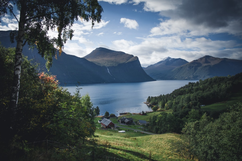 Auf dem Atlantic Road in Norwegen findet man auch in Europa noch seine absolute Ruhe.