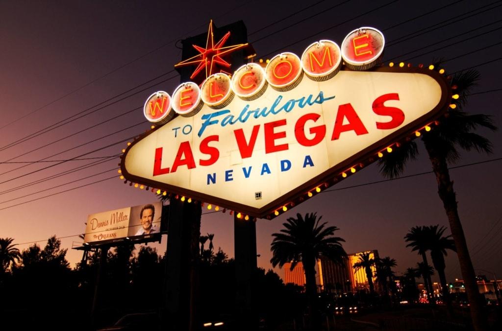 Las-Vegas-Schild-Schriftzug