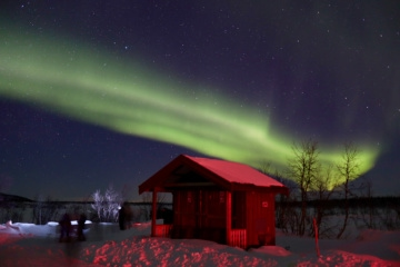 Nordlichter in Norwegen