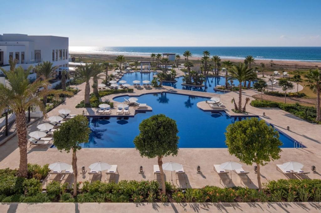Pool im Hilton Tangier Al Houara Resort