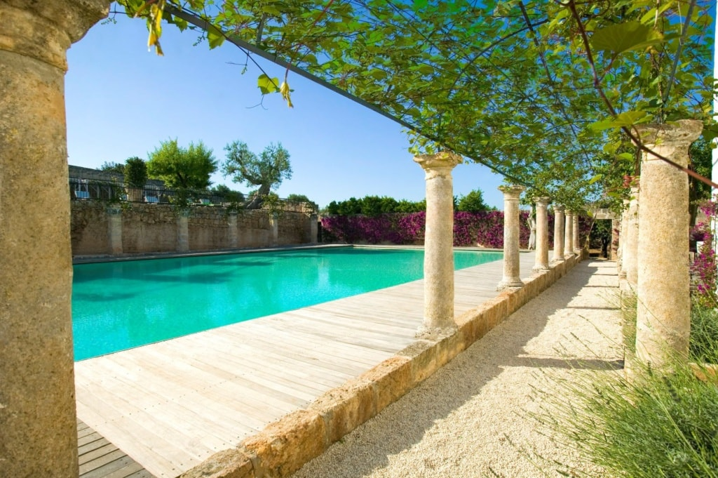 Pool im Masseria Torre Maizza