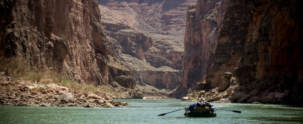Rafting auf dem Colorado River im Grand Canyon