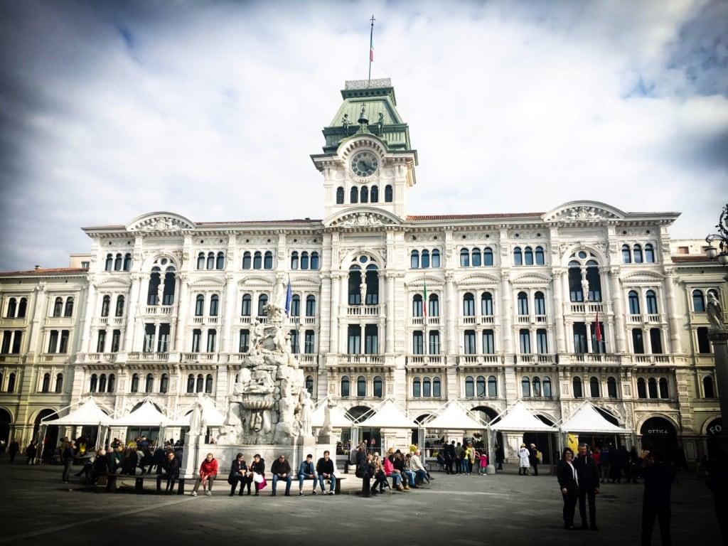 Rathaus in Triest