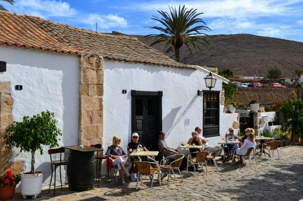 Restaurant in Betancuria auf Fuerteventura