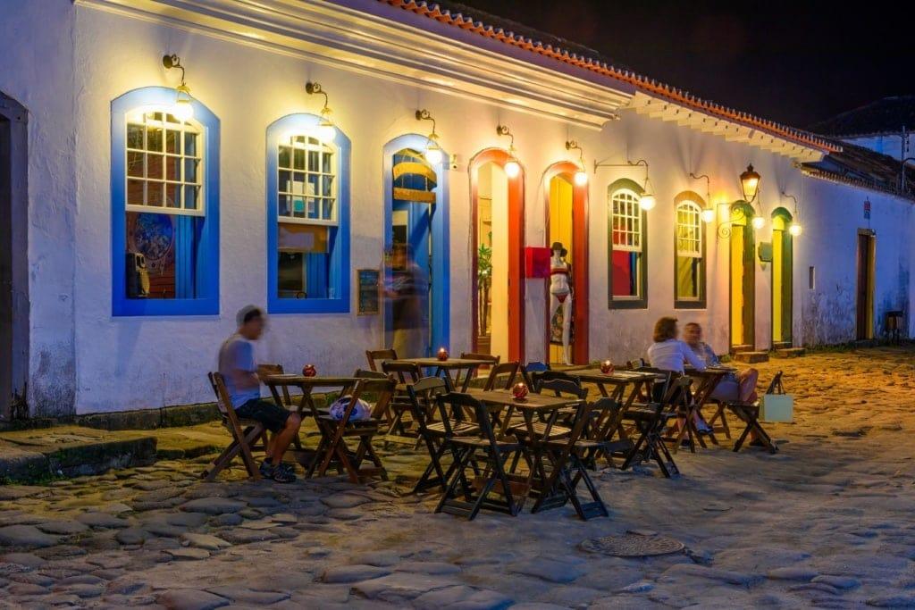 Restaurant mit Terrasse in Brasilien