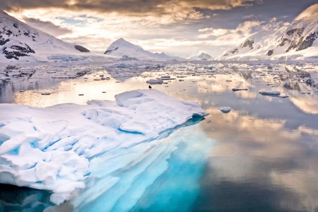 Die wunderschöne Antarktis ist offizielles Niemandsland.