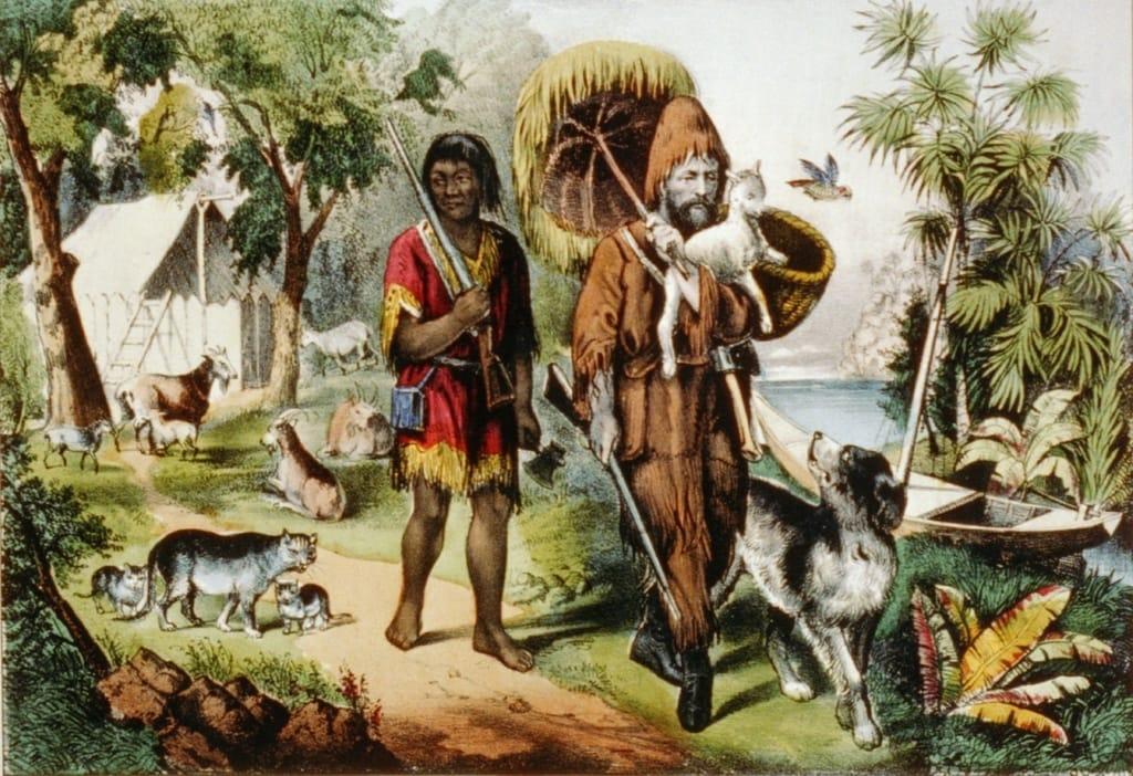 Daniel Defoe Buch »Robinson Crusoe« ist ein Weltklassiker.