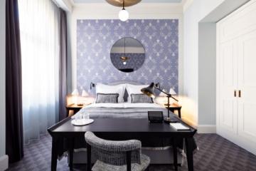 Schlafzimmer im Hotel Tortue Hamburg