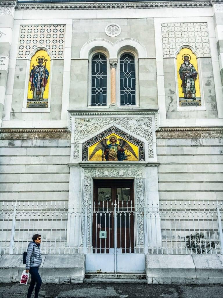 Serbisch-orthodoxe Kirche in Triest