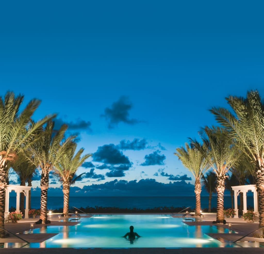 South Pool in The Breakers in Palm Beach