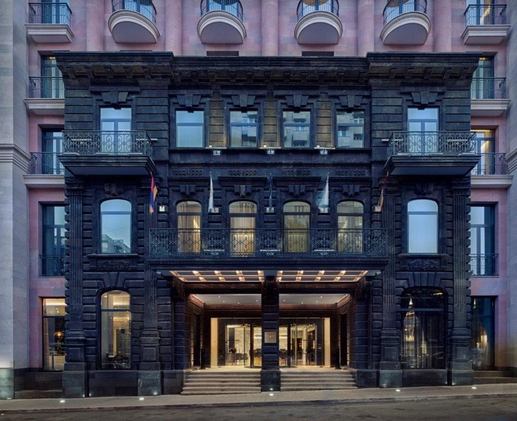 The Alexander Hotel Armenien Gebäude
