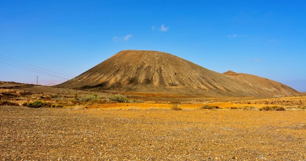 Tindaya Mountain in La Oliva, Fuerteventura