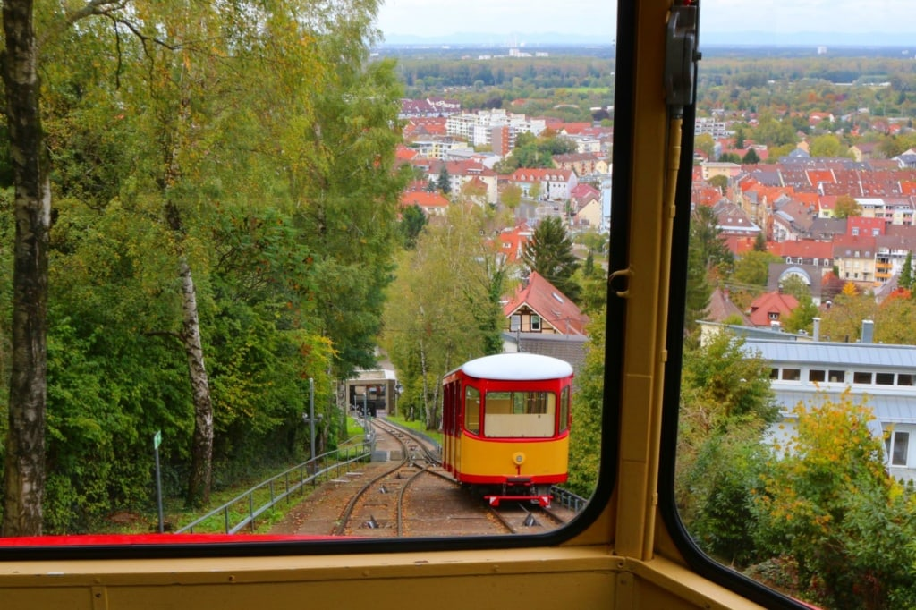 Turmbergbahn in Karlsruhe