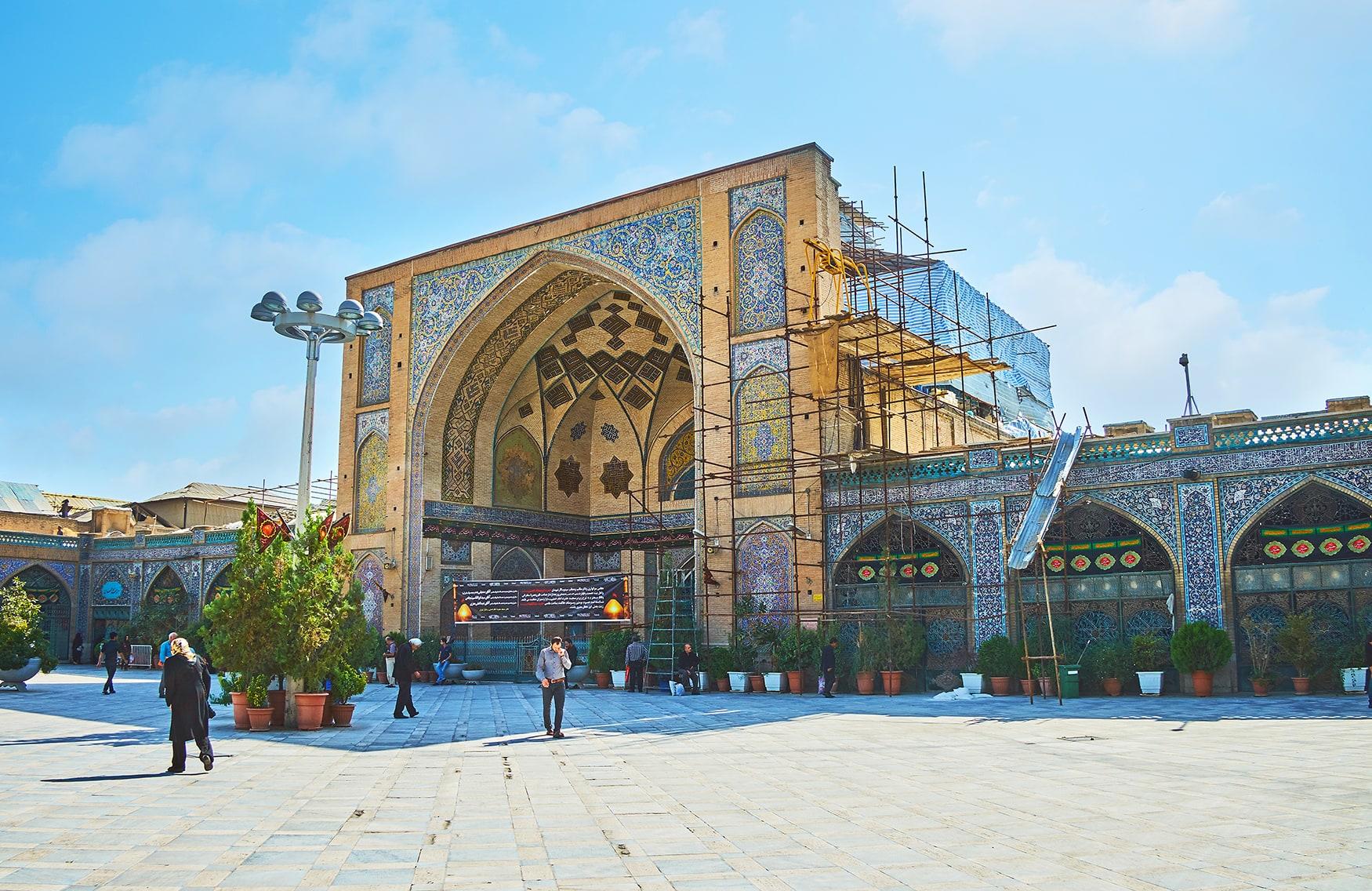 Moschee in teheran, Iran